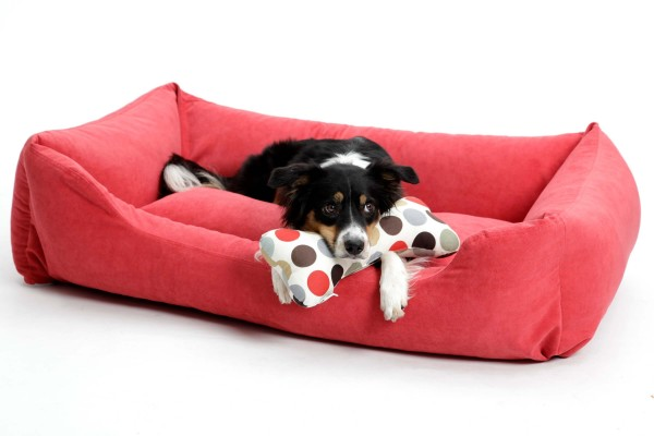 Hundebett Madison rot
