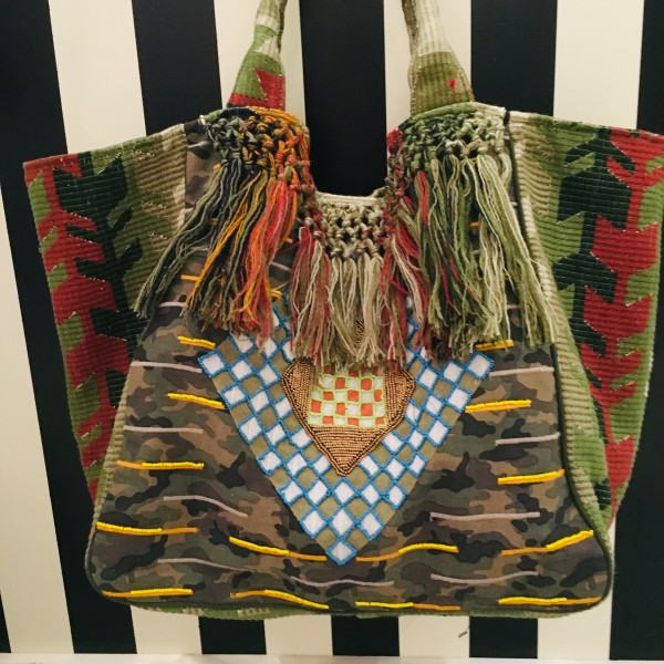 Toller Shopper im Camouflage-Look