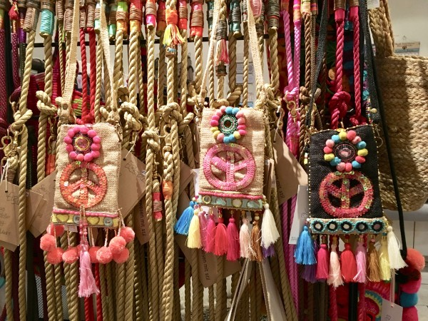 Hippie-Happy-Handy Tasche im Boho-Look